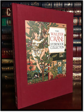 The Walter Crane Storybook Collection Color Illustrated New Deluxe Cloth Bound