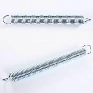 Bulktex® Zugfeder 8x64x490 mm Garagentorfeder Garage passend Hörmann Normstahl