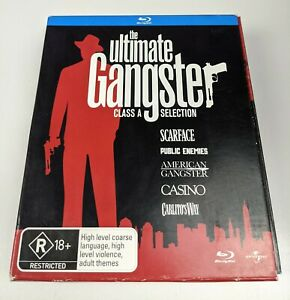 The Ultimate Gangster Class A Selection - Genuine Region B Blu-Ray Box Set