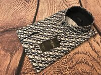 Tootal Vintage Casual Shirt, Size Large, White Paisley, BNWT, Amazing Value