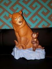 "Disney Brother Bear Kenai & Koda pvc bank vintage RARE HTF 9"""