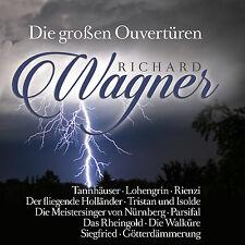 CD Die großen Ouvertüren von Richard Wagner 2CDs