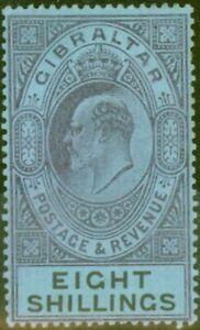 Gibraltar 1903 8s Matte Lila & Schwarz-Blau SG54 Fein & Fresh Leicht MTD