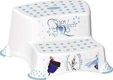 Disney FROZEN Childrens Toilet Training 21cm tall Double Step Stool - White