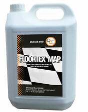 Floor Polish 1 x 5 ltrs Superior Grade High Solids Non Slip Metalised Acrylic