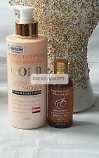 PURE EGYPTIAN GOLD MAGIC WHITENING BODY LOTION + SERUM