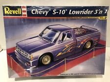 Revell Chevy S-10 Lowrider 3 in 1 Model Kit Mint Sealed