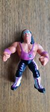 HASBRO WWF BRET 'THE HITMAN' HART SERIES 8 - PINK TOP - RARE