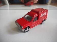 """Majorette Renault Express """"AVIS"""" in Red"""
