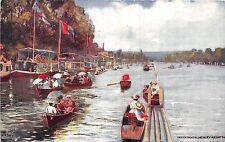 POSTCARD  HENLEY   Houseboats                                    TUCK