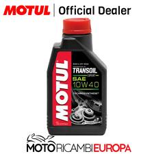 OLIO MOTUL TRANSOIL 10W40 EXPERT 1LT 1 LITRO OLIO TRASMISSIONE MOTO SCOOTER
