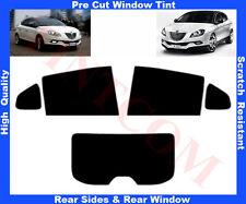Pre Cut Window Tint Lancia Delta 5D 2009-2013 Rear Window & Rear Sides Any Shade