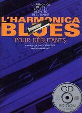 Harmonica Blues Pour Debutants Beginner Easy Learn to Play Music Book & CD