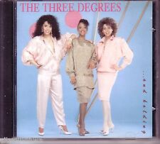 THREE DEGREES...And Holding! 1989 Ichiban Oop CD Philly Soul Dance Disco Rare
