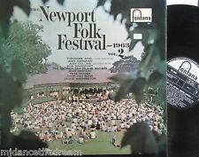 NEWPORT FOLK FESTIVAL - 1963 VOL 2 ~ VINYL LP