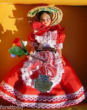 Alassio bambola con costume regionale anni 50/60 - folklore