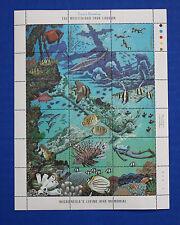 Micronesia (#71) 1988 Truk Lagoon LIving War Memorial MNH sheet