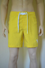Abercrombie & Fitch Morgan Montaña Swim Board Shorts Amarillo S RRP £ 54
