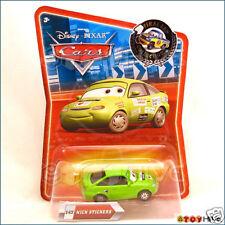 Disney Pixar Cars Green Nick Stickers #142 Final Lap series
