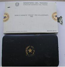 """REPUBBLICA ITALIANA ISTITUTO POLIGRAFICO ZECCA SERIE PROOF """"GOLDONI"""" 1993  #1#"""