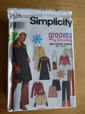 """Pattern for Coat, Jacket, Skirt, Bag, Trousers & Blouse for Teens 33-36"""" bust"""