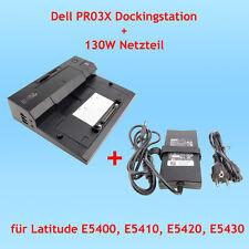 Dell PR03X Dockingstation + 130 W Netzteil für Latitude E5400 E5410 E5420 E5430