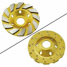 "Ocr 4"" Concrete Turbo Diamond Grinding Cup Wheel Three Row Turbo Cup Disc"