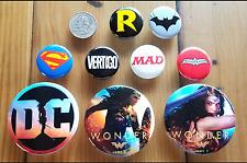 DC Comics WonderCon 2017 Wonder Woman Movie Superman Batman Robin Pin Gal Gadot