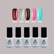 5 Bottles BORN PRETTY Soak Off One-step Gel Polish Nail Art UV 6055/56/38/35/32