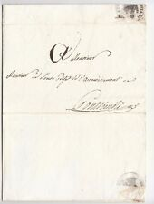 1810 TOSCANA IMP.FRANCESE lettera GROPPOLI-PONTREMOLI+t.AQUILA MARIE GROPPOLI-j4