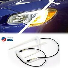 15-16-17 Subaru WRX/STi LED Switchback Turn Signal Park Light Boards Halo Kit