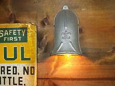 RARE 40's Vintage KILLARK Industrial Wall Sconce FLEUR-DE-LIS Lamp Light