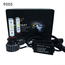 80W 19200lm 2 Sides CSP LED Headlight Kits 9005 High Low Beam 6000K Bulb White A