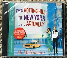 From Notting Hill to NewYork Actually by Ali McNamara Audio Book Mp3 CD