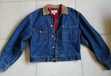 Vintage Ralph Lauren Equestrian Jacket Womens Denim Dungarees M