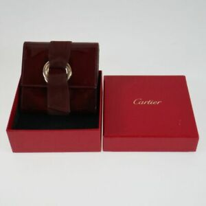 Cartier Bordeaux Wallet with Box Used Authentic pa154