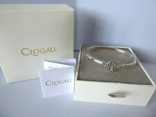 Clogau Gold, Silver & Rose Gold Dwynwen Opal Bangle RRP £219.