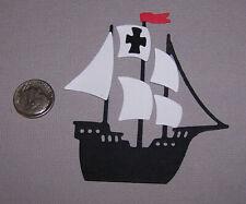1 Pirate Ship Premade PAPER Die Cuts / Scrapbook & Card Making