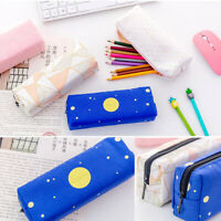 Creative Pencil Pen Case Cosmetic Makeup Bag Storage Pouch Purse Students School