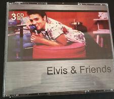 ELVIS Elvis And Friends 3CD Set Carl Perkins Chuck Berry Little Richard