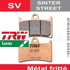 Plaquettes de frein Avant TRW Lucas MCB 822 SV pour Hyosung GV 700 C Efi 2011-