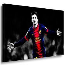 Lionel Messi Leinwandbild AK ART Bilder Mehrfarbig Wandbild Barsa FC Barcelona