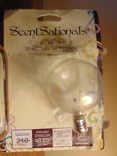 SCENTSY Light Bulb 25 watt - CLEAR - ONE SCENTSY BULB