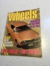 WHEELS MAGAZINE JUNE 1973 TESTS GTS MONARO XL CHARGER  VINTAGE CAR MAGAZINE