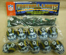 "NFL FOOTBALL: RAMS PARTY LIGHTS - 10 LIGHTS WITH 12"" CORD - NEW         #PSG-RTL"