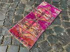 Small rug, Doormats, Bohemian rugs, Natural dyed rug, Soft, Wool | 1,0 x 2,2 ft