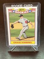 2011 Topps Lineage Craig Kimbrel RC Atlanta Braves Rookie 8 Of 20 Rookies Set
