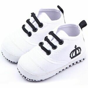 First Walker Sneaker Soft Sole Shoes For Toddler Fashion Cotton Slip-on Footwear
