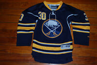 #30 Ryan Miller Buffalo Sabres NHL Blue Hockey Jersey (Youth Small, 8-10)