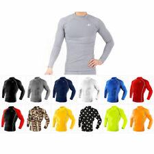 Take Five Mens Skin Tight Compression Base Layer Running Shirt S ~ 2Xl 01-1